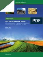 2011 Biomass Program