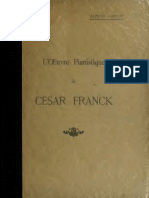 Cortot Son Oeuvre Pianistique