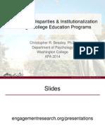 APA 2014 ExOffender Education Presentation 8-8-14