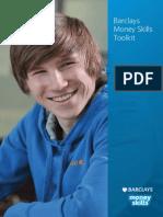 Barclays Money Skills Toolkit - Aged 16 - 25