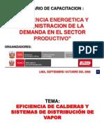 Ok Eficiencia de Calderas y Sistemas de Distribucion Del Vapor