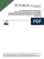 Documento LTE 3gpp TS 36.101