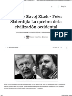 Diálogo Slavoj Zizek - Peter Sloterdijk_ La Quiebra de La Civilización Occidental (With Images) · Filosofiacr · Storify