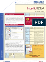 RefCardz -  IntelliJ IDEA