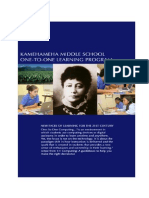 2014-15 KMS 1:1 Learning Program Guidebook