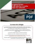 Impugnaciones Mesa Votacion Naupari Oct 2013