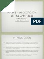 Asociacion Entre Variables