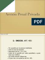 Accion Penal Privada