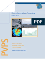 Photovoltaic and Solar Forecasting State of the Art REPORT PVPS T14!01!2013
