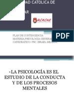 Contingencia Psicologia General