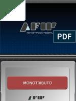 MODIFICACIONES MONOTRIBUTO DE FECHA 03-11-09