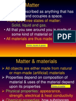 01  revision of matter and materials