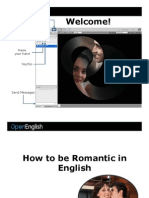 0506_How to Be Romantic in English