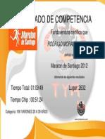 Maraton de Santiago 2012 10K
