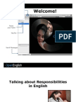 0630_Talking About Responsibilities in English