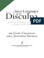 Chapman, Gary - Los Cinco Lenguajes de La Disculpa