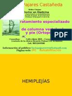 N°8 Clases- UNMSM - HEMIPLEJÍAS