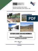 Estudio Agrosocioeconomico Pisacoma - Corregido
