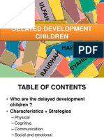 Delayed Development Children