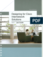 Designing for Cisco Internetwork Solutions Lab Guide (CCDA DESGN 640-864) v2.1