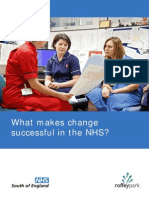 NHS South of England What Makes Change Successful