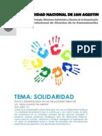 Trabajo Solidaridad