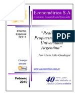 ECONOMETRICA- Informe Sobre Educacion