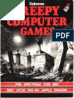 Usborne Book Of Creepy Computer Games