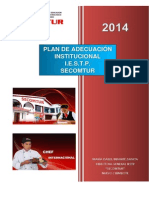 Plan de Adecuación Iestp Secomtur