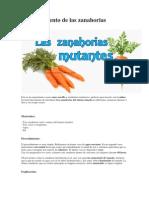 El Experimento de Las Zanahorias Mutantes