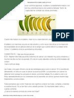 Fibromialgia Por No Saber Comer Las Frutas