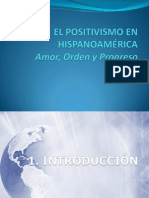 Sesion 10 La Segunda Mitad Del s XIX EL Krausismo y El Positivismo 1