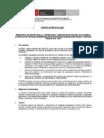 Bases Convocatoria Entidades Evaluadoras Externas