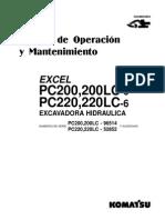 O&M PC200,LC-6   96514 up GSAD004804