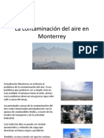 La Contaminación Del Aire en Monterrey
