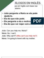 Monte Diálogos Em Inglês