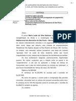 021687781.2007.8.26.0100 Vila Inglesa Bancoop Agenda Paralela