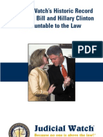 Holding Bill and Hillary Clinton ACCOUNTABLE