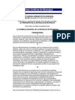 Ley de Carrera Administrativa Municipal