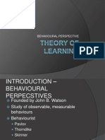 Behaviourists_ Theory of Learning