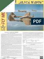 [Fly Model 004] - P-61 Black Widow(1)