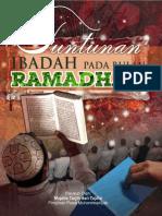 Tuntunan Ibadah Ramadan 1434