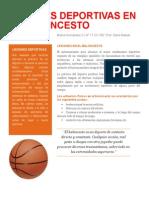 Lesiones Deportivas en El Baloncesto