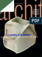 Architecture magazine feature on GSAPP, 2000