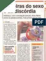 Jornal Agora - SNAP - Pulseiras do sexo e da discórdia. 10/11/2009