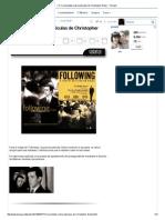 (1) Curiosidades Sobre Películas de Christopher Nolan - Taringa!