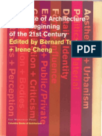 The State of Architecture at the Beginning of the 21st Century, excerpt