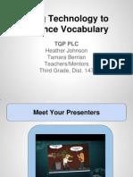 using technology to enhance vocabulary
