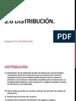 2.6 distribución