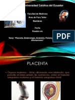 FORO2 Placentaanatomayfisiologafinal 121102180712 Phpapp02